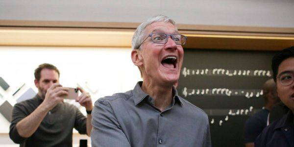Apple has a new biggest bull on Wall Street. Here's why he thinks the company will reach a $2 trillion market value