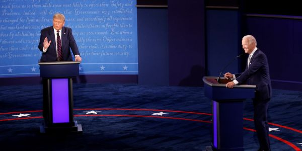 The first 2020 debate was a political horror show as Trump tried to bully Biden and the former vice president told him to 'shut-up'