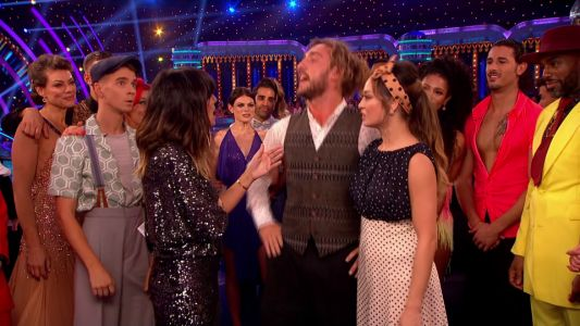 Strictly Come Dancing viewers convinced show bosses 'hid' Neil Jones at the back after wife Katya and Seann Walsh's Quickstep