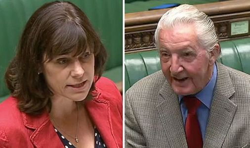 'Blimey, you must be HELL to live with!' Tory MP takes HILARIOUS swipe at Labour's Skinner