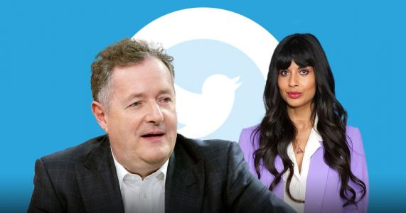 Piers Morgan 'distraught' after Jameela Jamil blocks him on Twitter over 'hateful' comments