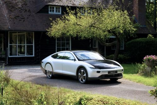 Lightyear One luxury electric car uses solar panels for a charging boost
