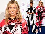 Ella Henderson shows off her edgy style in a tie-dye tracksuit at Radio City Hits Live