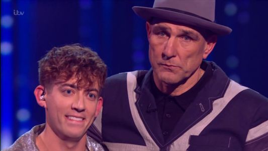 Kevin McHale eliminated from The X Factor: Celebrity as Simon Cowell refuses to let Vinnie Jones drop out