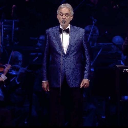 Andrea Bocelli 'Music For Hope' live from the Duomo in Milan on Easter Sunday