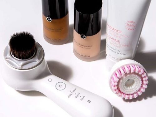 I converted my Clarisonic into a makeup tool with its $40 foundation brush head - even makeup artist Patrick Ta does it