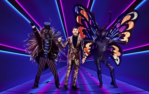 The Masked Singer host Joel Dommett reveals show secrets and one celebrity is lying about being behind the mask