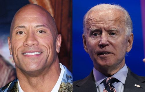Dwayne 'The Rock' Johnson backs Joe Biden in first public political endorsement