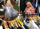 Gemma Collins spotted 'purchasing fake designer clothes on Manchester's famous counterfeit street'