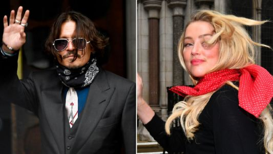 Johnny Depp called Amber Heard 'lesbian camp counsellor' and trashed trailer after female friend touched her