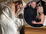 Chloe Madeley pokes fun at husband James Haskell for napping all day as the couple self-isolate