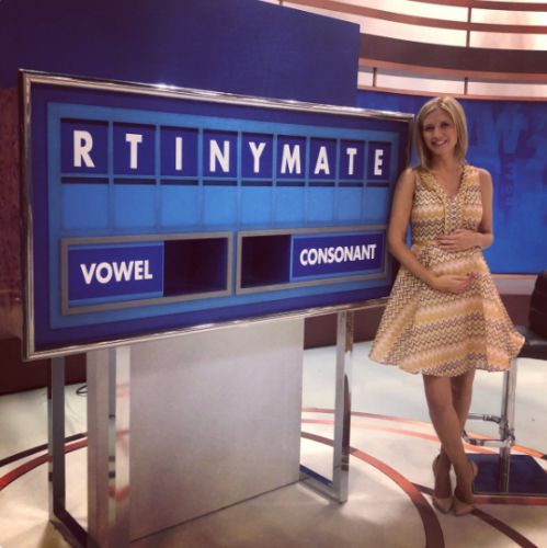 Rachel Riley confirms she's expecting first baby with Strictly dancer Pasha Kovalev and announced with Countdown conundrum