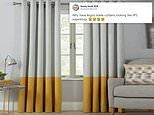 Argos is mocked for selling £5.99 curtains that look like cigarettes