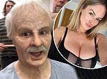 Rhian Sugden transforms into an old man with prosthetics