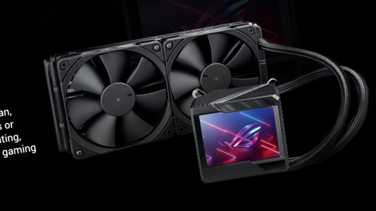 Asus' Upcoming AIO Cooler Has a 3.5-Inch LCD Screen to Display Images