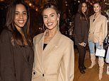 Rochelle Humes and Ferne McCann show off their sense of style at Giovanna Fletcher's book launch