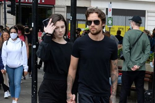 Liam Payne and girlfriend Maya Henry join Black Lives Matter protest in London