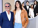 Pierce Brosnan's sons Paris, 18, and Dylan, 22, are set to follow in their famous father's footsteps