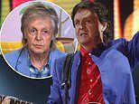 Sir Paul McCartney 'had his shoelaces tied by an aid before he performed at Glastonbury'