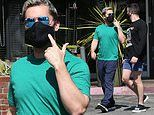 Lance Bass and husband Michael Turchin step out after revealing their surrogate miscarried