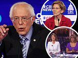 Bernie Sanders wins the Democratic debate, pundits declare while Elizabeth Warren is a loser