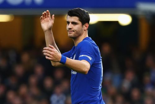 AC Milan in London to hold talks with Chelsea over Alvaro Morata