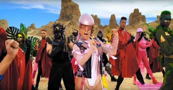 Lady Gaga's Stupid Love Music Video Is Suitably Camp And Totally Bonkers