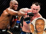 Kamaru Usman admits he will be sad not to have his father cage side