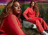 Beyonce unleashes inner 'beast mode' wearing bright red suit for Ivy Park X Adidas collaboration
