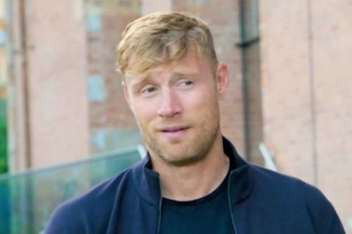 Freddie Flintoff 'urinates' at Scots road ahead of filming A League Of Their Own