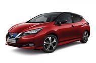Nissan Leaf upgraded with new trim level and added equipment