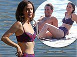 Rose Byrne and longtime partner Bobby Cannavale enjoy a day at the beach in Sydney