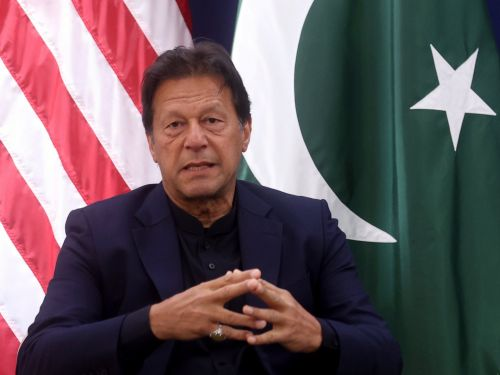 Pakistan's Prime Minister Imran Khan defended his contempt for the country's media by claiming journalists often 'cross the line'