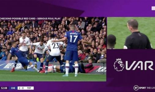 VAR: Stockley Park ADMIT wrong Giovani Lo Celso red card decision in Chelsea vs Spurs