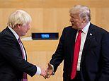 Boris Johnson to warn Donald Trump that NHS and animal welfare standards are off the table