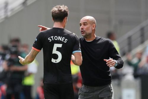 Pep Guardiola raises doubts over John Stones' City future after season to forget