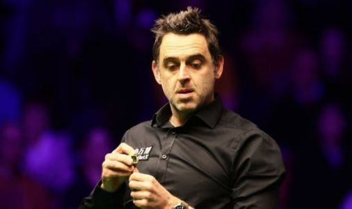Ronnie O'Sullivan reacts to Masters defeat against John Higgins