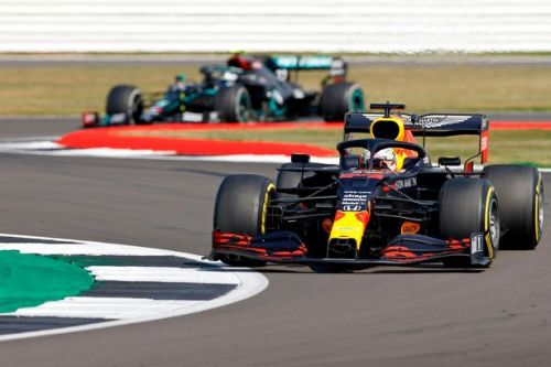 Max Verstappen wins 70th Anniversary GP to end Lewis Hamilton's winning run