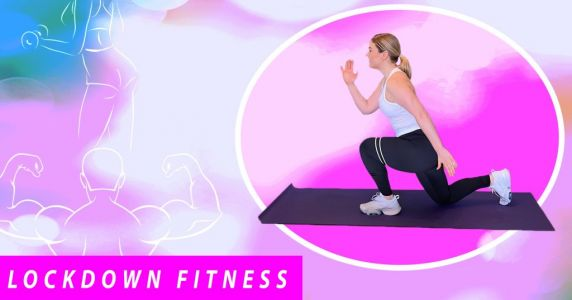 Lockdown fitness: Full-body flat friendly workout with no jumping