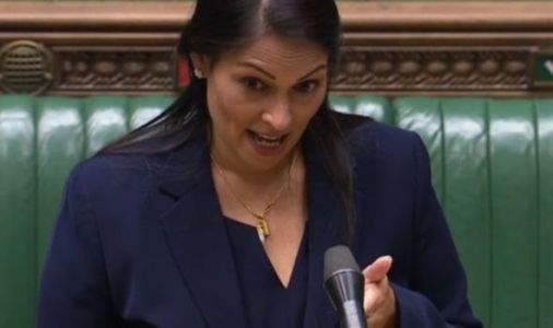 Priti Patel savagely shuts down Labour MP over police numbers 'I've not sacked them all!'