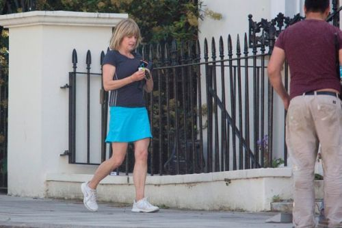 Boris Johnson's sister flouts lockdown to stay at second home and play tennis