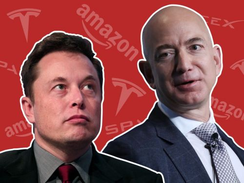 Elon Musk just became the second-richest person in the world, second only to Jeff Bezos. It's the latest development in a 15-year rivalry between 2 of the world's most powerful CEOs