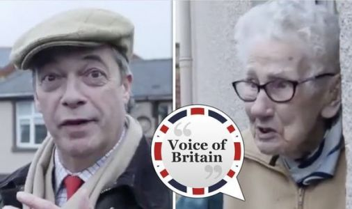 Nigel Farage meets furious Welsh voter who vows to REJECT Labour Party over Brexit