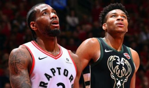 Kawhi Leonard sends Raptors fans WILD with crazy dunk over Giannis Antetokounmpo - WATCH