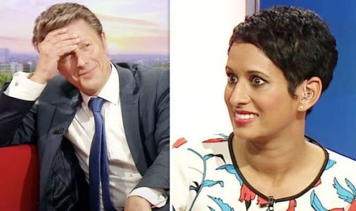 Naga Munchetty's smug delight at BBC Breakfast star's on-air celebrity blunder exposed
