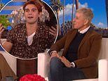 Riverdale's KJ Apa reveals to Ellen he's over being called an Aussie and New Zealand is better