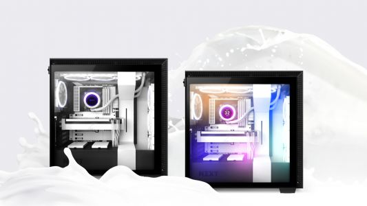 NZXT Launches H510 Flow Case and white Kraken CPU coolers