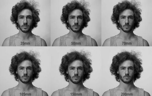 This One Gif Shows How Focal Lengths Can Drastically Change the Shape of Your Face