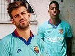 Barcelona reveal turquoise third kit with traditional blue and purple for 2019-20 campaign