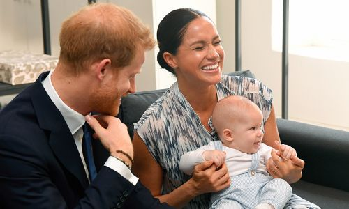 Prince Harry and Meghan Markle release new photo of Archie Harrison for Prince Charles' birthday